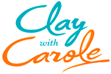 clay with carole logo